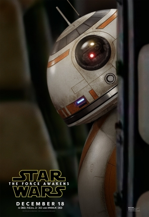 Star Wars 7: The Force Awakens new BB-8 poster can see you