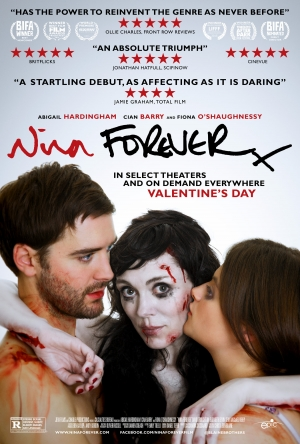 Nina Forever poster gets in the middle of things