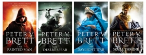 WIN ONE OF 50 COPIES OF PETER V BRETT'S THE PAINTED MAN