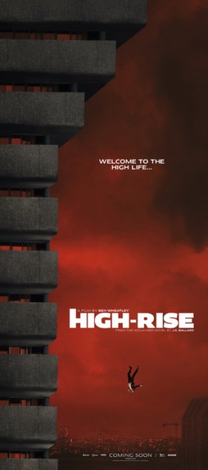 High Rise poster faces a long drop