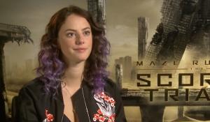 Scorch Trials' Kaya Scodelario talks Teresa, WCKD and more