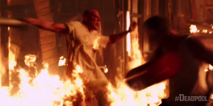 Deadpool new IMAX spot has Wade beating off Ajax in a hospital gown