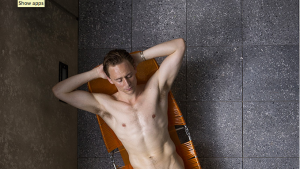 High Rise: Tom Hiddleston flashes flesh in new pics