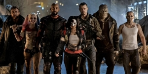 Suicide Squad assemble in new pic