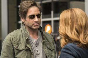 "X Files: ""Mulder is not in a happy place"""