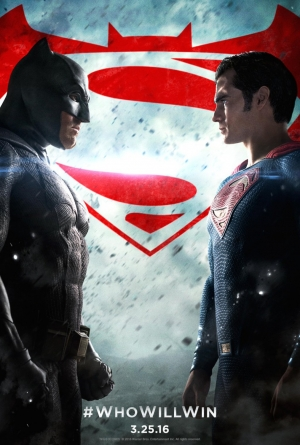 Batman V Superman new poster is filled with tension