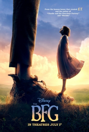 The BFG new poster is made of dreams