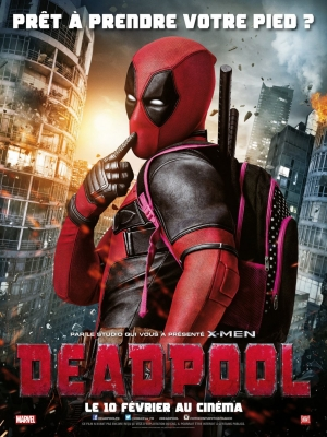 Deadpool French poster strikes a familiar cheeky pose