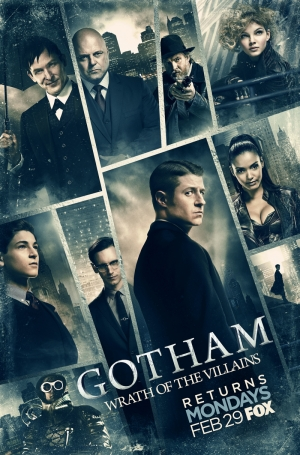 Gotham Season 2 new posters suffer the wrath of the villains