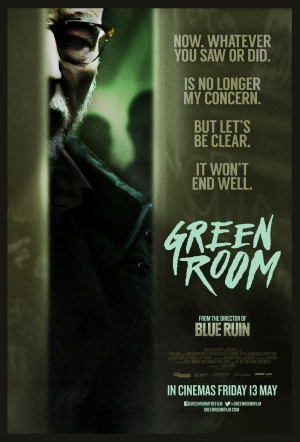 Green Room new poster is entirely sinister