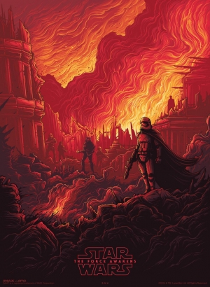 Star Wars: The Force Awakens Phasma IMAX poster is divine