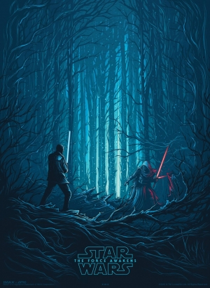 Star Wars: The Force Awakens IMAX poster pits Finn against Kylo Ren