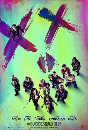 Suicide Squad poster keeps Joker to one side
