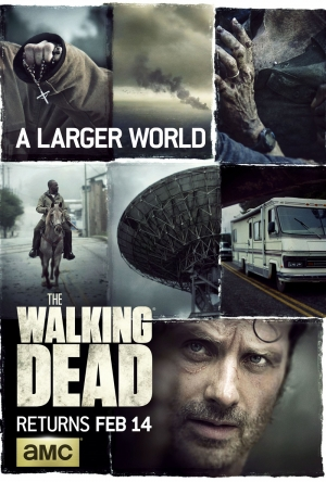 The Walking Dead Season 6 part 2 new poster ventures out