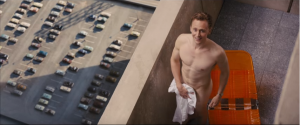 High-Rise new trailer Tom Hiddleston is an excellent specimen