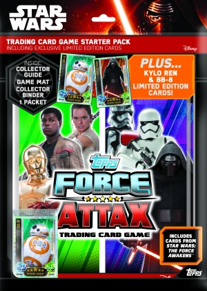 Win Topps' The Force Awakens stickers & trading cards with our competition