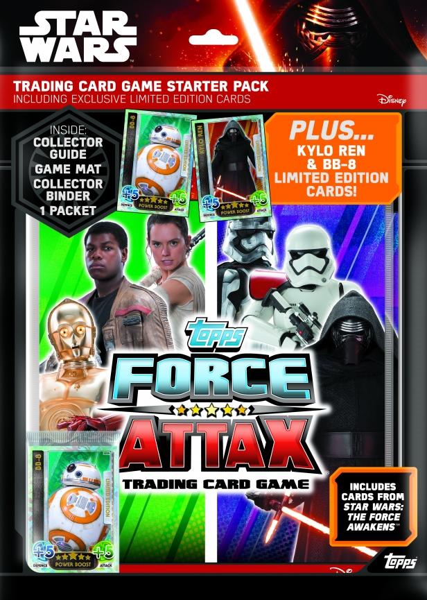 Star Wars Force Attax_UK Starter Pack
