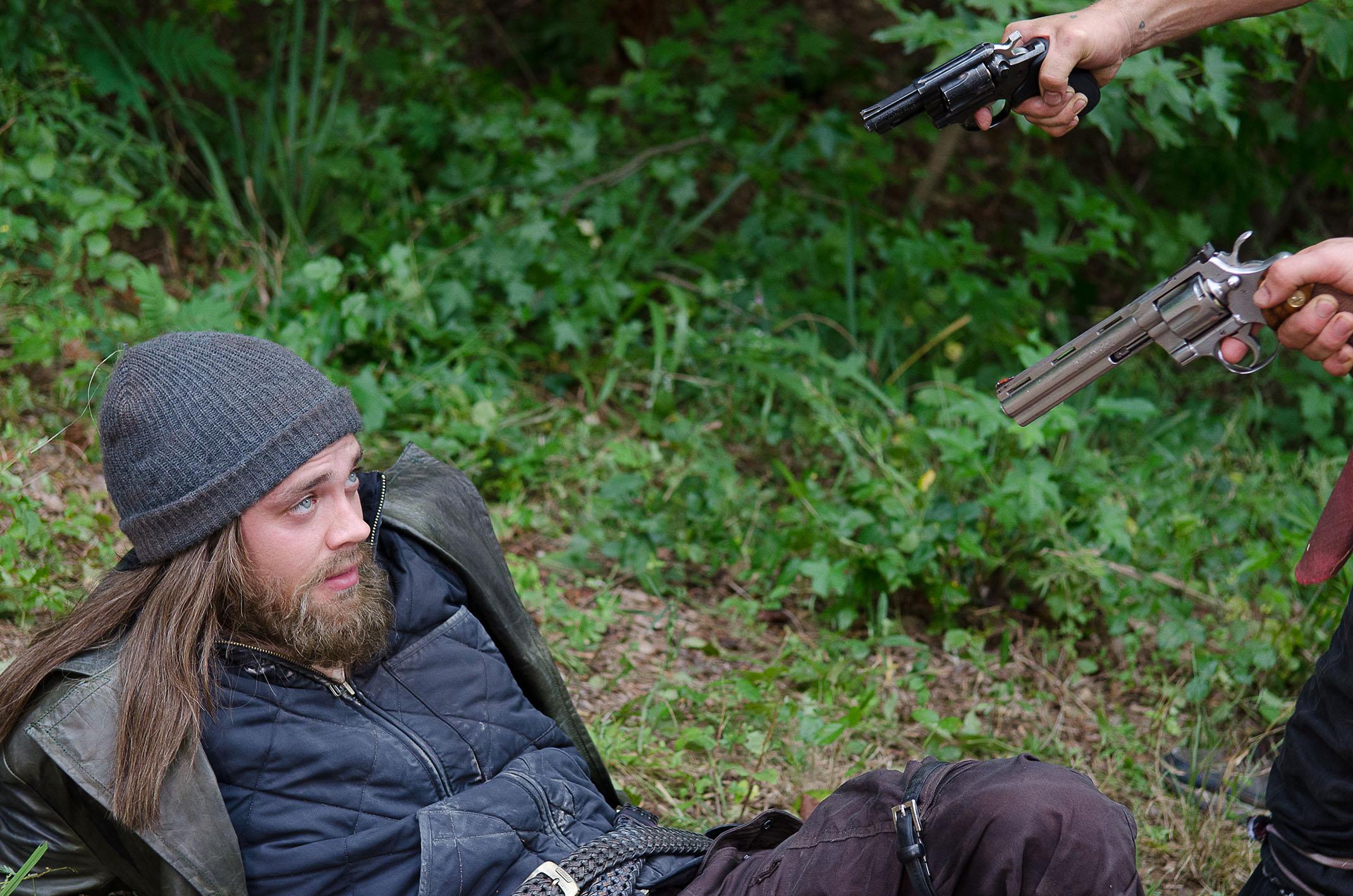 "Tom Payne as Paul ""Jesus"" Monroe - The Walking Dead _ Season 6, Episode 10 - Photo Credit: Gene Page/AMC"