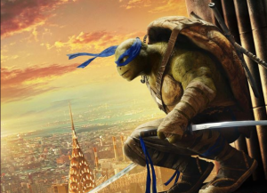 Teenage Mutant Ninja Turtles 2 posters take over NY