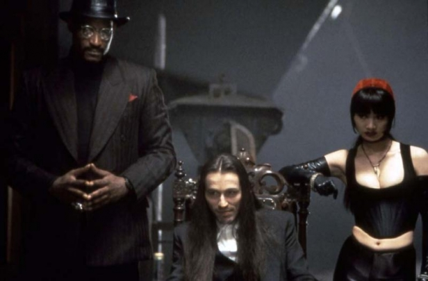 Todd with Michael Wincott and Bai Ling in The Crow