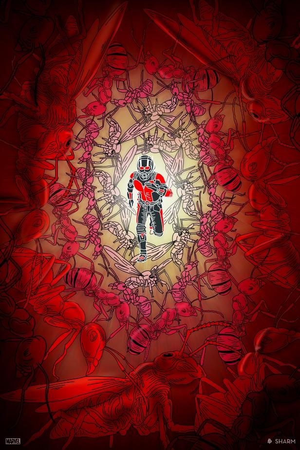Sharm's Ant-Man piece