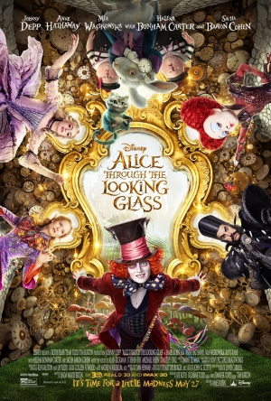 Alice Through The Looking Glass poster welcomes the madness
