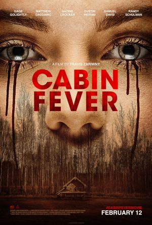 Cabin Fever remake poster heads back to the woods