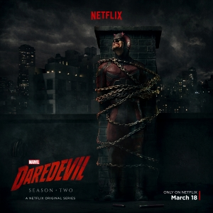 Daredevil Season 2 poster sees Matt in a bad way