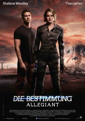 Divergent Series: Allegiant new German poster has given up