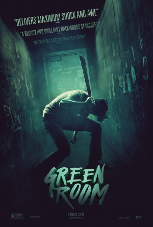 Green Room new poster lets off some steam