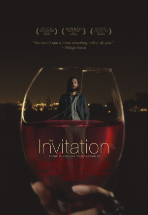 The Invitation poster for excellent horror shows something wrong