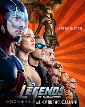 Legends Of Tomorrow new poster races against time