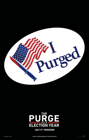 The Purge: Election Year poster wants you to vote