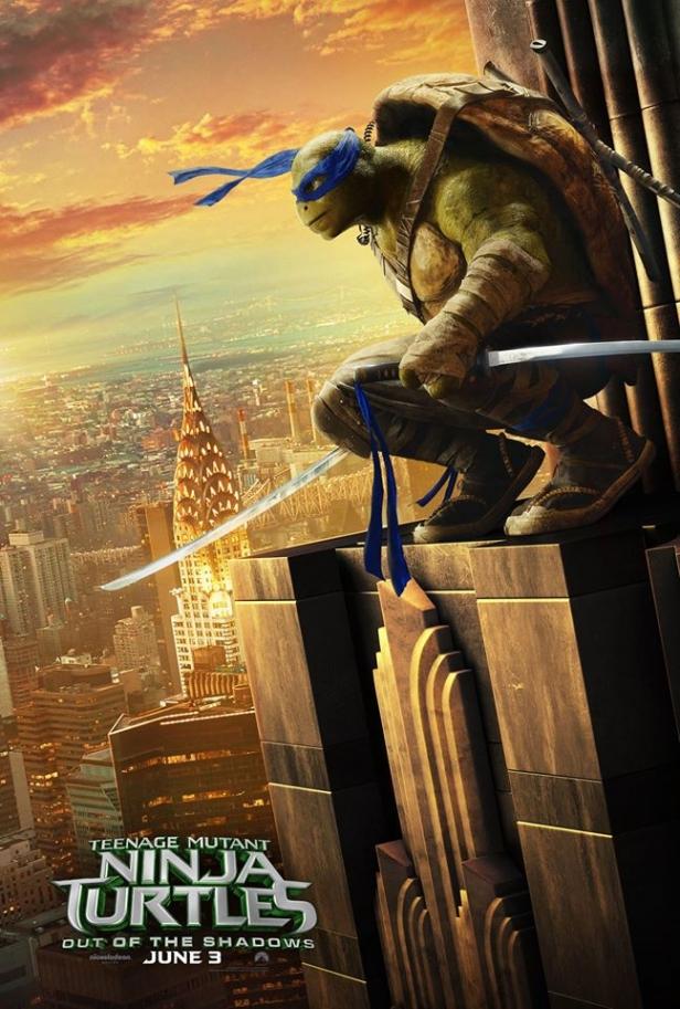 Teenage Mutant Ninja Turtles 2 posters take over NY ...