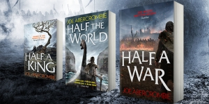 Win Joe Abercrombie's The Shattered Sea trilogy with our competition!