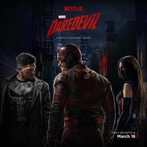 Daredevil Season 2 poster reveals Punisher and Elektra's costumes