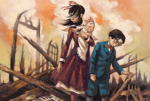 Series Of Unfortunate Events casts Lemony Snicket & Count Olaf