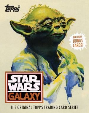 Star Wars Galaxy: The Original Topps Trading Card Series book review