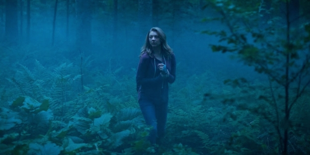 Natalie Dormer searches for her sister in The Forest