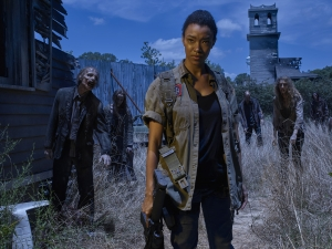 "Walking Dead: ""Sasha is ready to live again"""