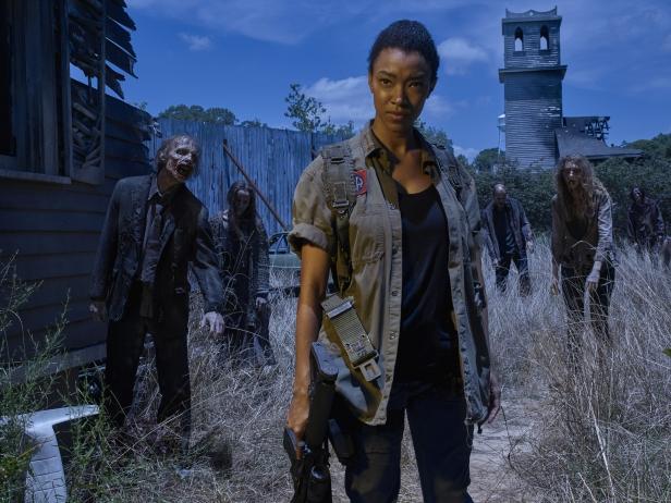 Sonequa Martin Green as Sasha - The Walking Dead _ Season 6, Gallery - Photo Credit: Frank Ockenfels 3/AMC