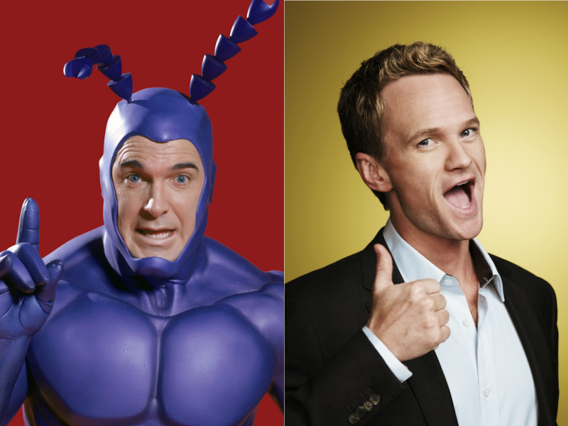 Partick Warburton and Neil Patrick Harris doing their thang