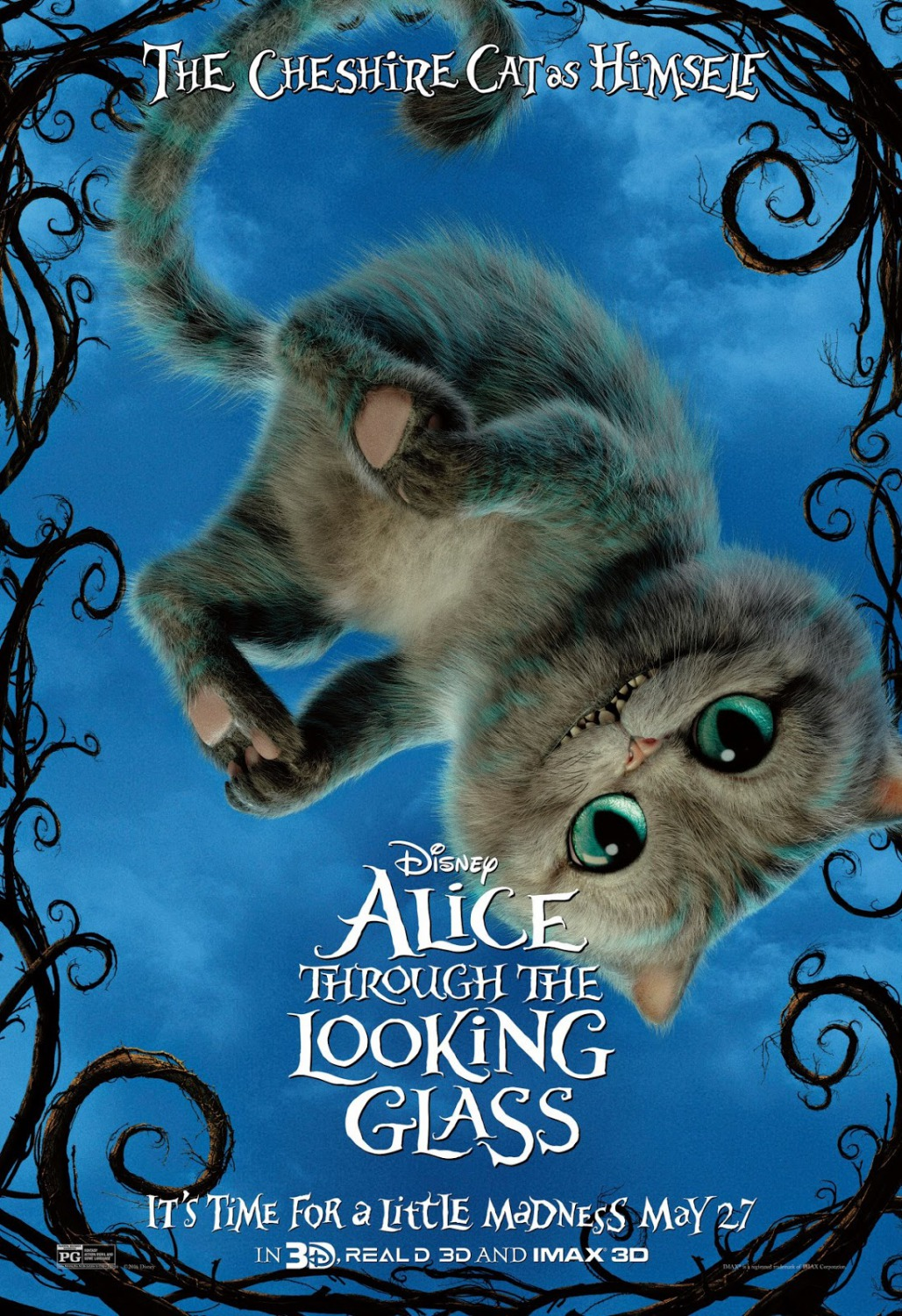 Alice Through The Looking Glass New Character Posters Are Magical