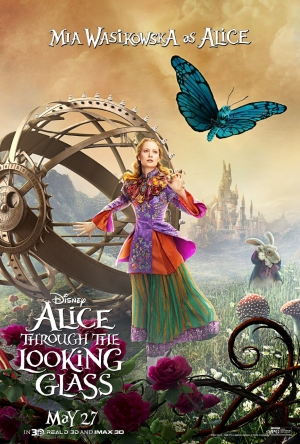 Alice Through The Looking Glass new character posters are on brand