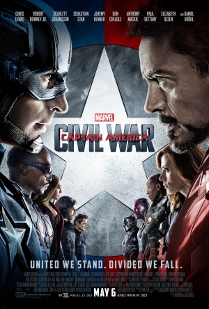 Captain America: Civil War new poster literally stands divided