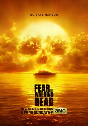 Fear The Walking Dead Season 2 poster is deadly and picturesque