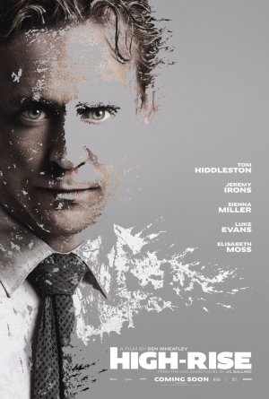 High-Rise new poster features Tom Hiddleston covered in paint