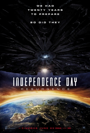Independence Day Resurgence poster had 20 years to prepare
