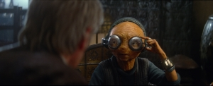 Star Wars The Force Awakens: How Snoke and Maz were created