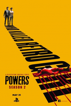 Powers Season 2 new poster wants to know who killed Retro Girl
